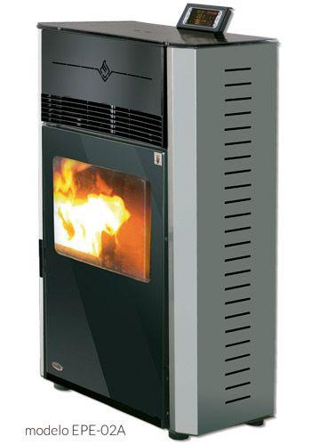 Calefacción por biomasa y consumo de pellets